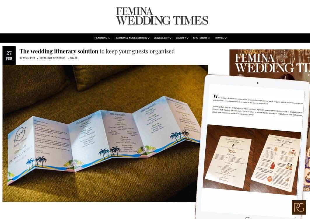 Femina wedding times 3